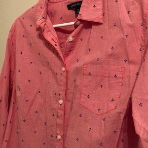 Lands' End Tops - Lands End women's button up shirt